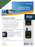 DeLorme InReach Fact Sheet
