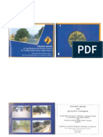 Quality Control Specifications-PMGSY-Pocket Book