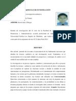 Articulo de Tecnicas de Investigacion Cualitativa