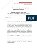 Activity Modes Selection for Project Crashing Through Deterministic Simulation