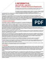 Hoja Informativa 520 Julio 2013 Partido Comunista de Chile