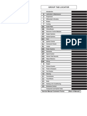 Mercedes Sprinter Service Manual | Motor Oil | Steering