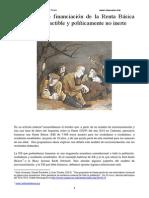 2013 - Arcarons, J. et al. - Un modelo de financiación de la Renta Básica técnicamente factible y políticamente no inerte.pdf