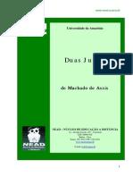 Duas Juizas - Machado de Assis