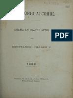 El Demonio Alcohol