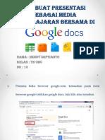 Hendy Septianto_TE-3BC_10_Presentasi Di Google Docs