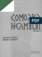 Comoara Neamului - Vol. 5 Îndemnuri satirice, îndemnuri de dragoste