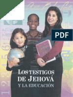 Los Testigos de Jehova Y La Educacion