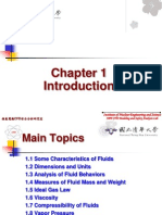 Chapter 1 Fluid Mechanics Introduction