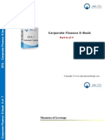 CFA Level 1 Corporate Finance E Book - Part 6