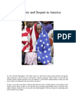 Growing Poverty and Despair in America, Stephen Lendman