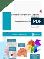 Presentación Santiago de Chile - Seguridad