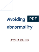 Avoiding Abnormality