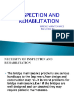 Inspection and Rehabilitation