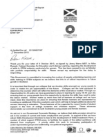 3 December 2013 Response from Angela Constance MSP to Kezia Dugdale MSP on women and STEM subjects