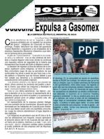 Kgosni 141-Cuacuila Expulsa a Gasomex