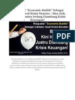 Economic Bubble Indonesia Waspada!!