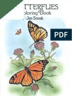 Butterflies - Coloring Bsdfook