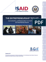 USAID Entrepreneurship Toolkit