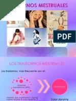 trastornos mestruales