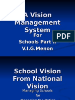 Vision Management Principle for Schools Part 2