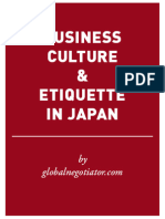 JAPAN BUSINESS ETIQUETTE AND PROTOCOL GUIDE