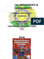 ELECTRICAL INSTRUMENTS First lecture USU