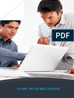 Sap Bw & Bi Course Brochure