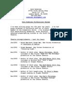 Dale Andersen Professional Resume
