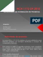 NCH 1172-Refrentado de Hormigon