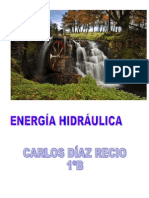 trabajo de tecnología sobre energía hidraulica