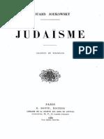 156533845 Edouard Joukowsky Judaisme