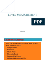 39093474 Level Measurement 1
