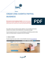 Manual Crear Cuenta Paypal Business