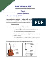 Noções básicas de violão