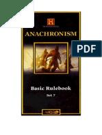 Reglas Castellano Anachronism