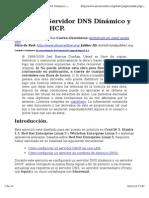 Servidor DNS Dinámico y Servidor DHCP