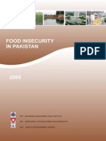 Food Insecurity in Pakistan 2009 SDPI 2009