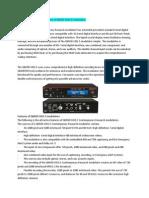 Features of QMOD-SDI1.5 Modulators