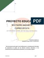 Web Pe Proyecto Educativo 2013 14