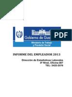 Paso (1.) Leer Antes de Trabajar El Informe Del Empleador Guia Del Informe Del Empleador Full 2013