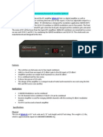 Contemporary Research RF Amplifier QDA4-45