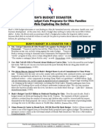 Democratic National Committee Release - How Bush's Policies Have Failed the Working Famlies of Ohio