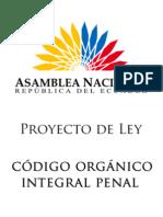COIP - Código Orgánico Integral Penal Del Ecuador