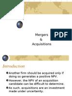 Mergers - Details