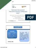 Conceptos, enfoques,  elementosEd Inclusiva.EL SALVADOR_FCede+¦o