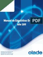 Manual de Estadisticas Energeticas de OLADE