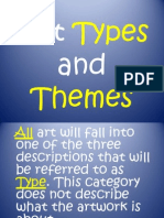 art types and themes