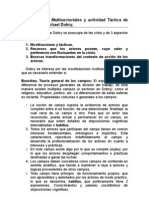 Resumen - Michael Dobry (Movilizaciones Multisectoriales y actividad Táctica de los actores)