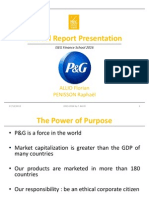 P&G Annual Report